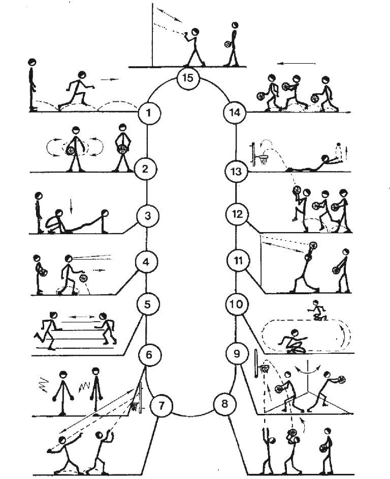 Упражнения для развития прыгучести у волейболистов