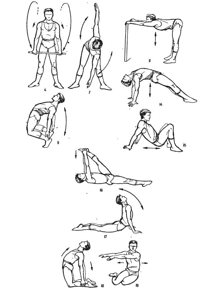 Упражнения для гибкости домашних условиях 529